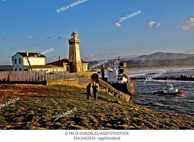 Aviles Ligthouse, Asturias, Spain