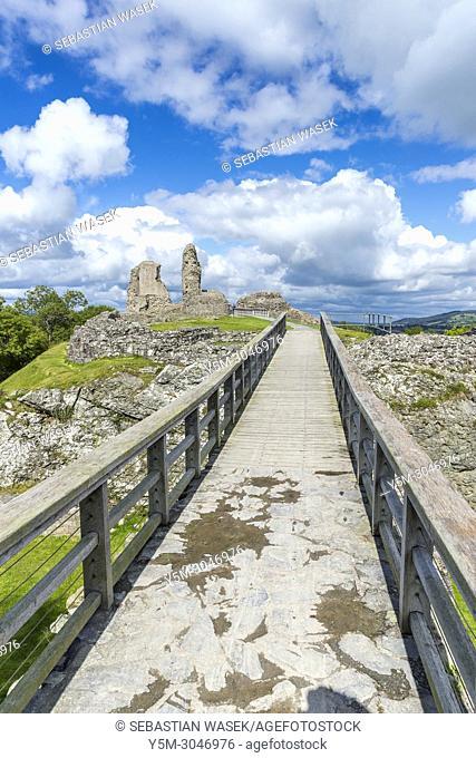 Montgomery Castle, Powys, Wales, Europe