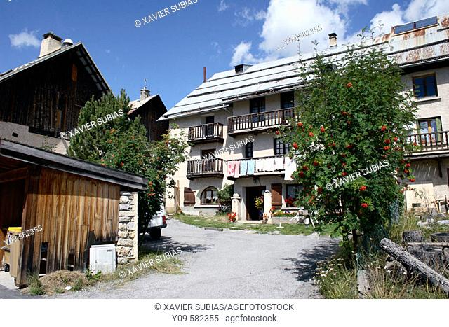Brunissard. Arvieux. Queyras. Hautes-Alpes. France
