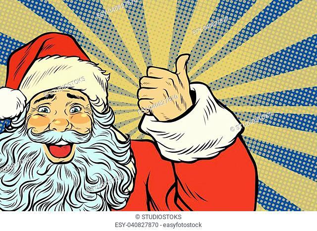2f6c1355a Hat santa claus pop art Stock Photos and Images | age fotostock