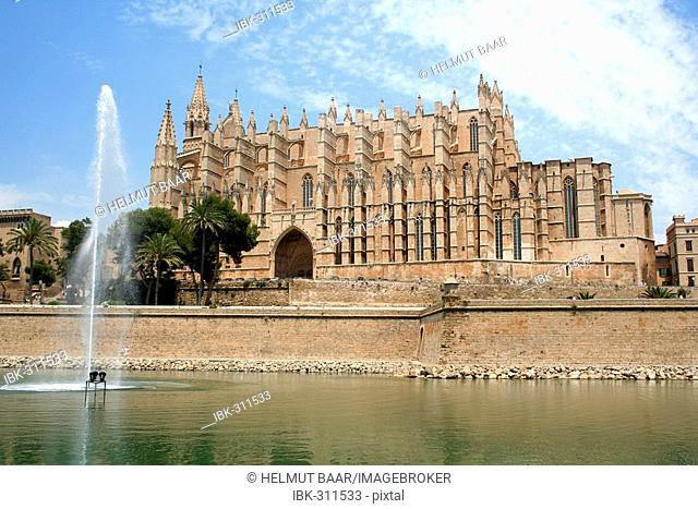 La Seu Cathedral, Palma, Mallorca, Spain