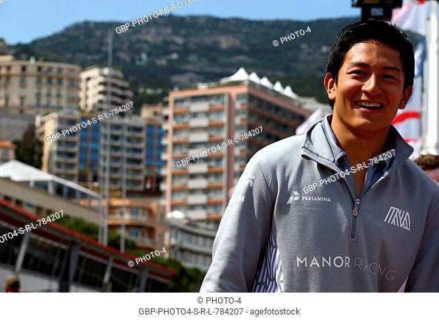 28.05.2016 - Rio Haryanto (IDN) Manor Racing MRT05