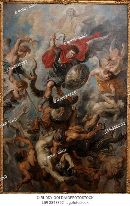"""""""The Fall of the Rebel Angels"""", 1621/22, by Peter Paul Rubens (1577-1640)"""