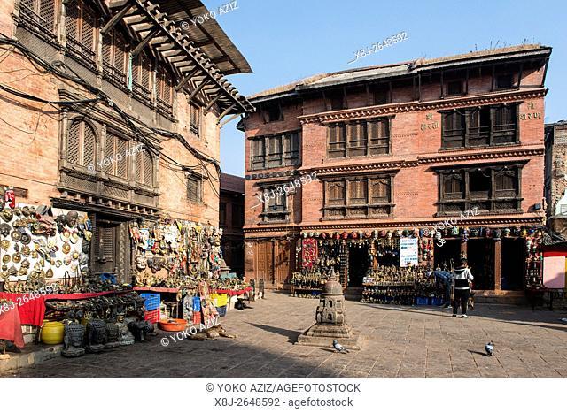 Nepal, Kathmandu, Swayambhunat