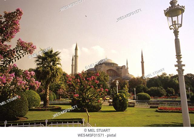 Turkey, Istanbul, Ayasofya Camiii