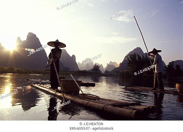 Guilin, Li River, Cormorant Fishing, China