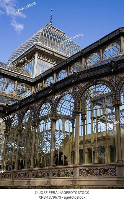 Crystal Palace, Parque del Retiro, Madrid, Spain