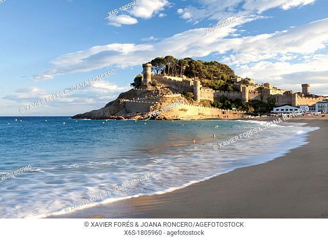 Tossa de Mar, Costa Brava, Girona, Spain