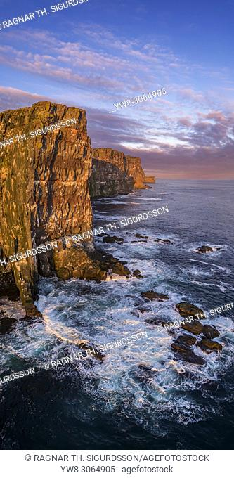 Latrabjarg cliffs, West Fjords, Iceland