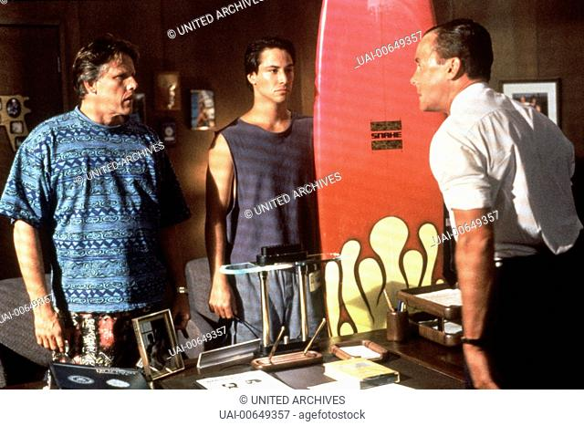 GEFÄHRLICHE BRANDUNG / Point Break USA 1991 / Kathryn Bigelow GARY BUSEY (FBI-Agent Angelo Pappas), KEANU REEVES (Undercover FBI-Agent Johnny Utah), JOHN C