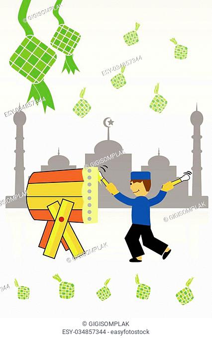 Vector Greeting Card - Ramadhan Kareem