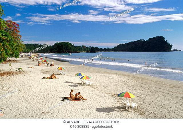 Espadilla beach. Manuel Antonio National Park. Costa Rica