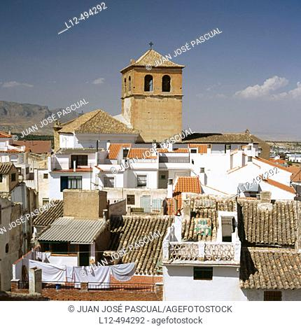 Old town, Baza. Granada province, Andalusia, Spain