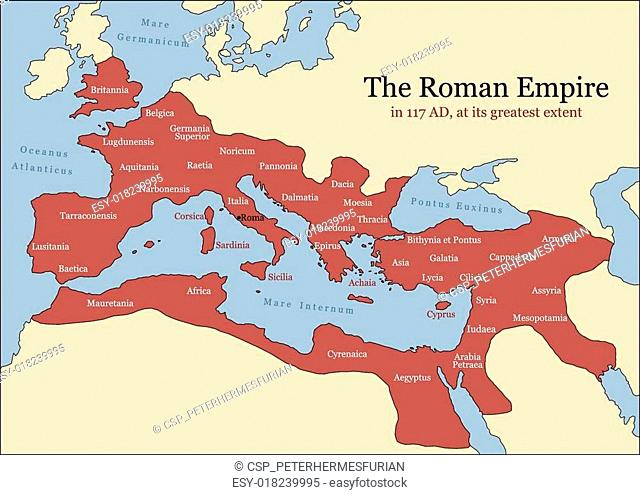 Map roman republic Stock Photos and Images | age fotostock on