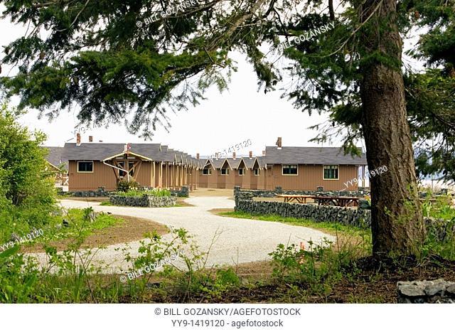 Cedar Cabins - Cama Beach State Park, Washington