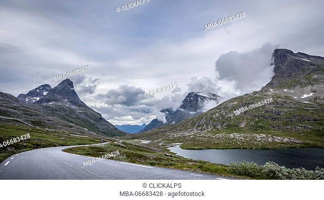 Trollstigen, More og Romsdal county, Norway