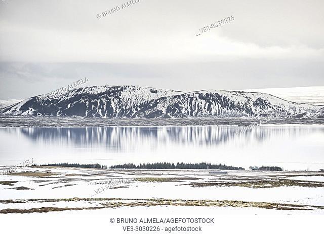 Þingvallavatn lake (region of Suðurland, Iceland)