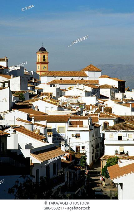 Algatocin, Serrania de Ronda. Malaga province, Andalusia, Spain