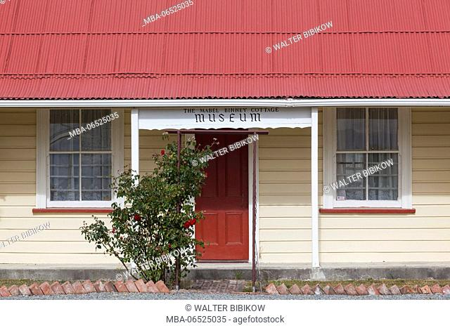 New Zealand, South Island, Canterbury, Fairlie, Fairlie Heritage Museum, exterior