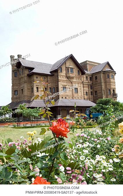 Low angle view of a palace, Amar Mahal, Jammu And Kashmir, India