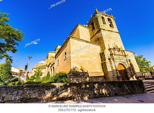 Parish Church Our Lady of the Assumption. Oropesa, Toledo, Castile-La Mancha, Spain, Europe