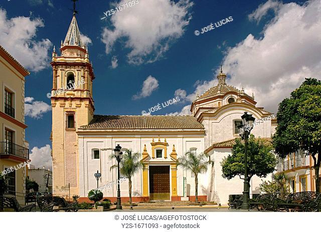 Church of San Martin de Tours, Bollullos de la Mitacion, Seville-province, Spain