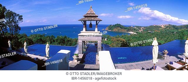 Pool, luxury hotel, Pimalai Resort & Spa, Kantiang Beach, island of Ko Lanta, Koh Lanta, Krabi, Thailand, Asia