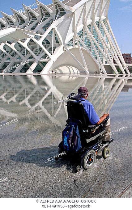 Science Museum, City of Arts and Sciences, architect: Santiago Calatrava, Valencia, Spain
