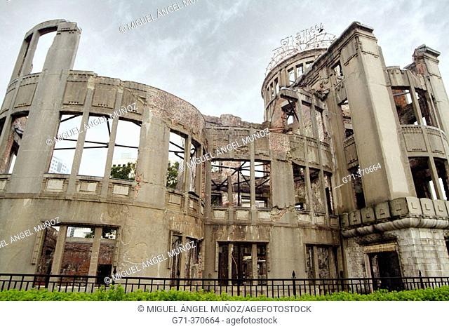 Genbaku Dome or A-Bomb Dome (added to Unesco's World Heritage List in 1996, 'Historic site' under the Japanese Cultural Properties Protection Art)