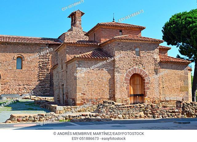 . Monumental complex of Egara, in Tarrasa Barcelona Spain