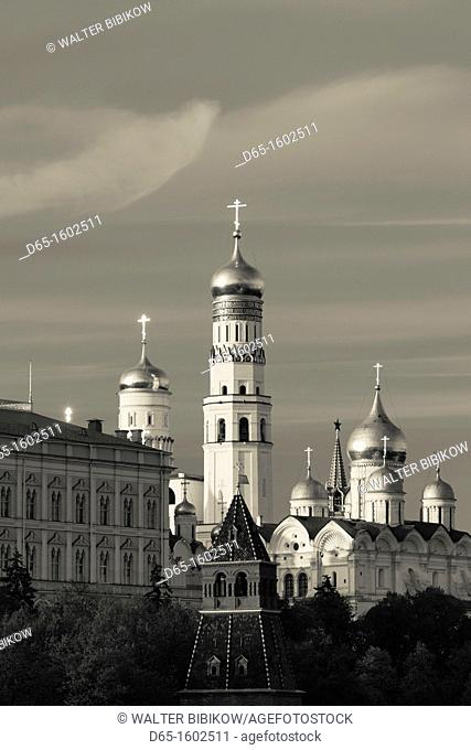 Russia, Moscow Oblast, Moscow, Kremlin, Kremlin Cathedrals