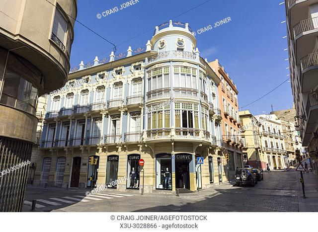 The city of Orihuela, Province of Alicante, Spain