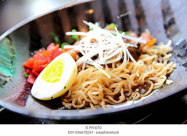 noodle ranmen Japanese food