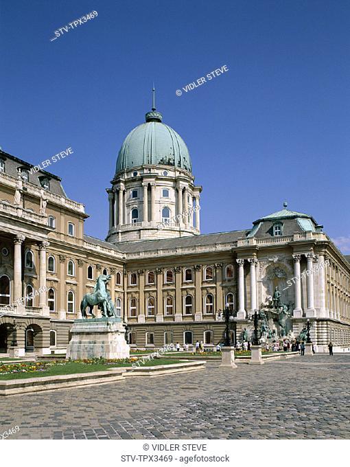 Buda, Budapest, Holiday, Hungary, Europe, Landmark, Royal palace, Tourism, Travel, Vacation