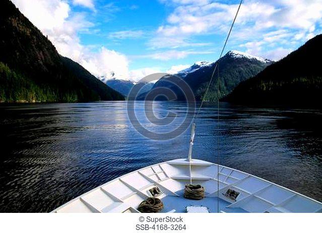 Usa, Alaska, Misty Fjords National Monument, Yorktown Clipper