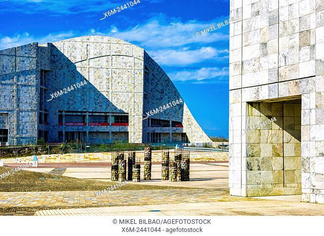 City of Culture. Santiago de Compostela. La Coruña, Galicia, Spain, Europe