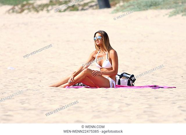 Katie Cleary spends the day on the beach in Malibu. Katie soon will be starring in 'Give Me Shelter,' premiering on Netflix on May 15th Featuring: Katie Cleary...