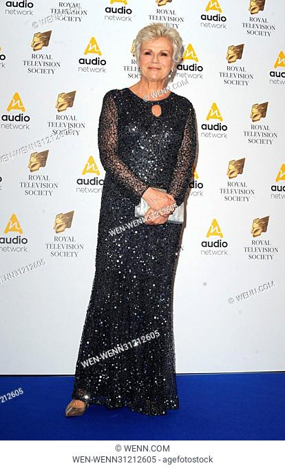 The Royal Television Society Programme Awards held at the Grosvenor House Hotel, Park Lane - Arrivals Featuring: Julie Walters Where: London