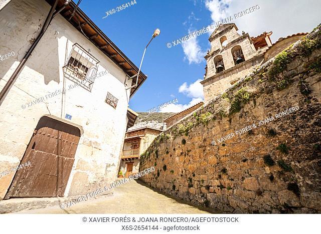 Tudanca de Ebro, Paramos region, Burgos, Spain