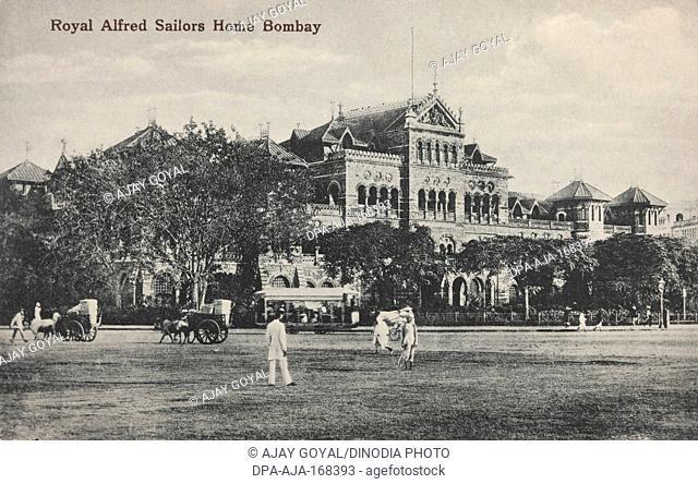 Royal alfred sailors home , Old Bombay Mumbai , Maharashtra , India