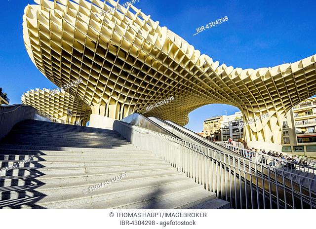Metropol Parasol, Plaza de la Encarnacion, Seville, Andalucía, Spain