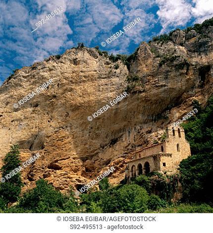 Ermita de Tobera. Burgos province. Spain