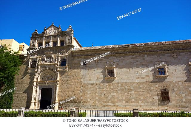 Toledo Santa Cruz Museum in Castile La Mancha of Spain