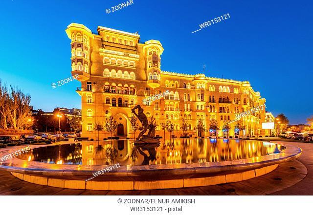 Nice residential building in Baku Azerbaijan