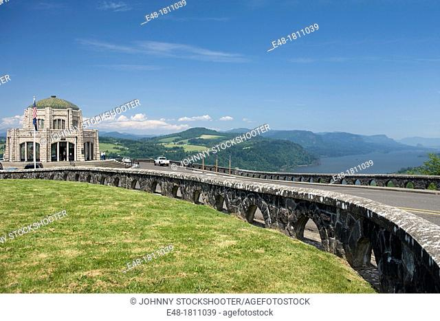 VISTA HOUSE OVERLOOK COLUMBIA RIVER GORGE MULTNOMAH COUNTY OREGON USA