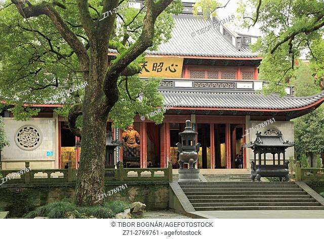 China, Zhejiang, Hangzhou, Yue Fei Temple,