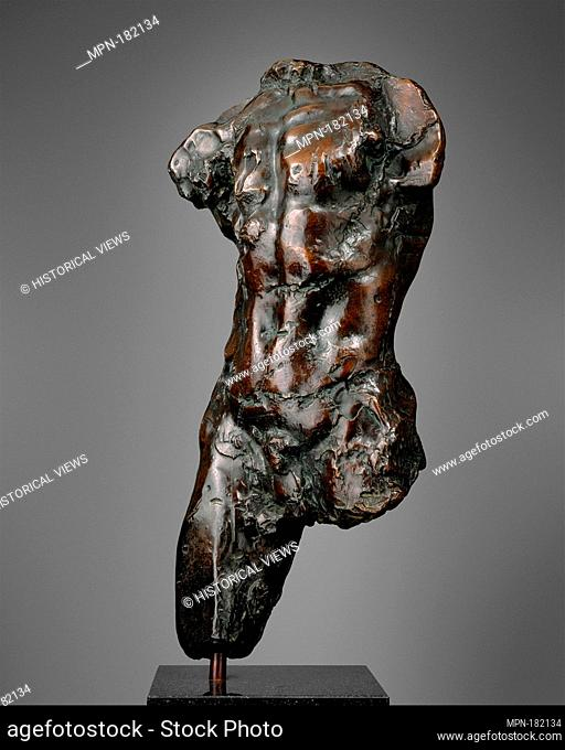 Torso. Artist: Auguste Rodin (French, Paris 1840-1917 Meudon); Founder: Coubertin Foundry; Date: modeled probably ca. 1877 or 1878