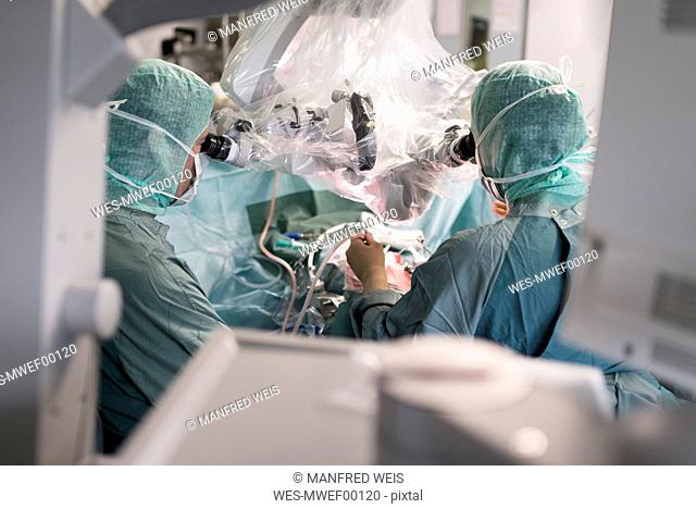 Neurosurgical operation