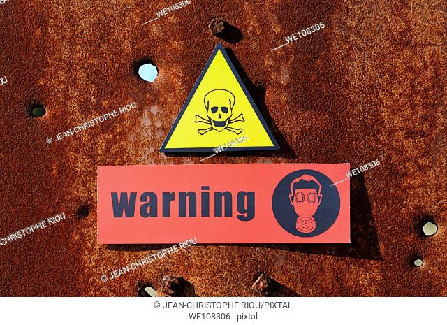 Dange and warning signs