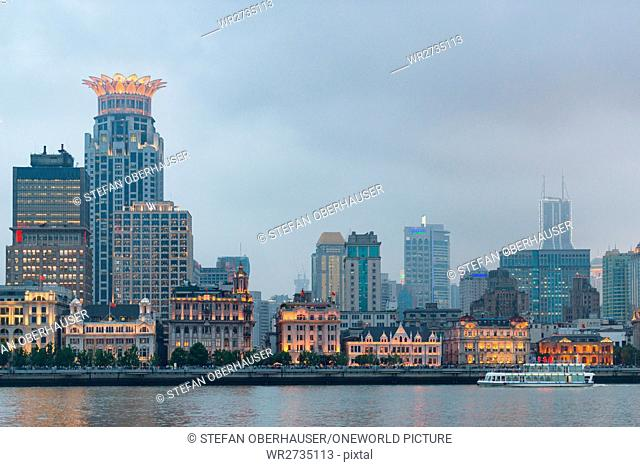 China, Shanghai, looking at The Bund